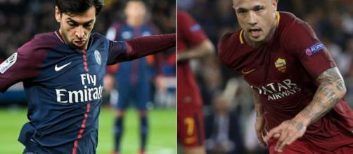 La trattativa Roma-PSG per Javier Pastore è strettamente collegata a quella tra Roma e Inter per Nainggolan - eurosport.com