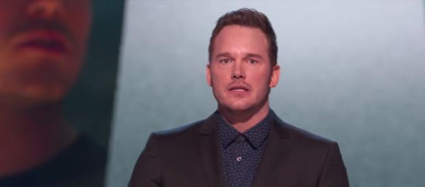 """Actor Chris Pratt accepted the Generation Award at the recent """"MTV: Movie Awards 2018"""" event. [Image via MTV/YouTube]"""