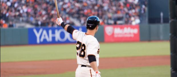 Buster Posey currently leads all National League catchers in All-Star fan voting. Image Source: Flickr | Andy Rusch