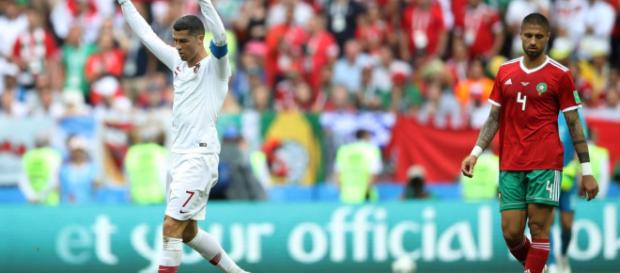 Le Portugal vainqueur du Maroc.