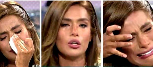 Sálvame: Miriam Saavedra se enoja tras darse cuenta que la grabaron discutiendo con Lozano