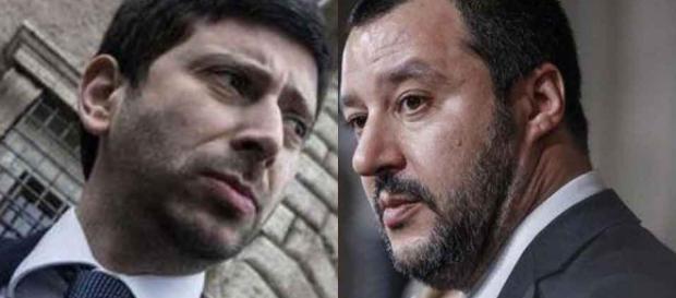 Salvini denunciato per istigazione all'odio razziale da Roberto Speranza di LeU