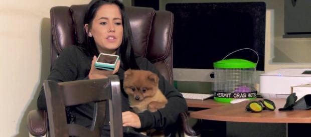 'Teen Mom 2' star Jenelle Evans continues to stir up trouble on social media. - [Image:Teen Mom 2 Facebook]