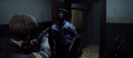 'Resident Evil 2' gameplay video. - [Capcom / YouTube screencap]
