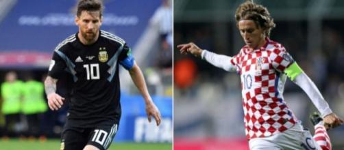 La partita Argentina-Croazia è terminata 0-3 mettendo a rischio la permanenza degli argentini al mondiale di Russia