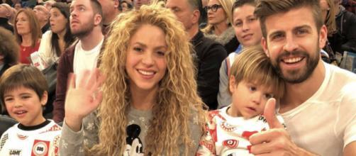 Los hijos de Shakira y Piqué divididos por la pasión futbolera de sus padres