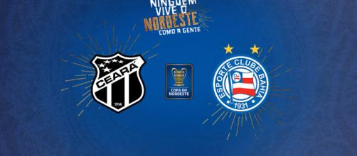 Partida entre Ceará e Bahia será transmitida no Canal Esporte interativo - Foto: Esporte Interativo