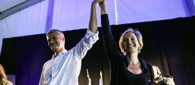 Au mont Mézenc, Laurent Wauquiez s'affiche avec Virginie Calmels - parismatch.com