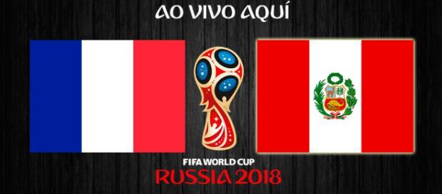 França x Peru ao vivo pela Copa do Mundo