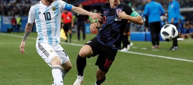Con la Ausencia de Messi Argentina cae ante Croacia