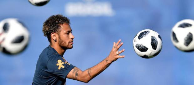 Mundial de fútbol 2018: Neymar entrenó con tranquilidad