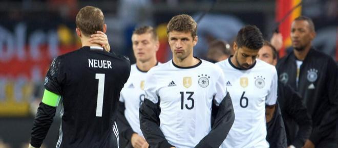 Die Bosse im DFB-Team: Neuer, Boateng, Müller und Hummels haben das Sagen