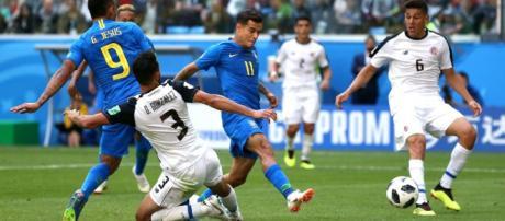 Dans les dernières secondes : Brésil 2-0 Costa Rica (résumé ... - onefootball.com