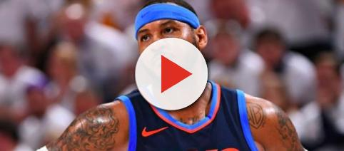Carmelo Anthony with OKC. - [Mr. T / YouTube screencap]