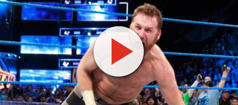 WWE superstar Sami Zayn will be out of action until 'WrestleMania 35' or longer after two shoulder surgeries. - [WWE / YouTube screencap]