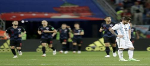 Argentina vive situação difícil na Copa