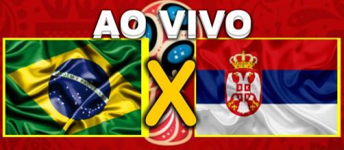 Brasil e Sérvia ao vivo se enfrentam pelo Grupo E.