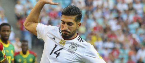 Il neo-juventino Emre Can, qui con la maglia della nazionale tedesca