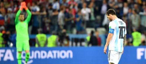 Mondial-2018: l'Argentine humiliée par la Croatie et au bord de l ... - liberation.fr