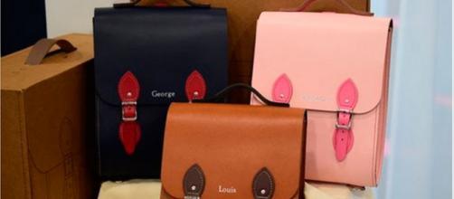 Princesa Charlotte recibió preciosa mochila de regalo