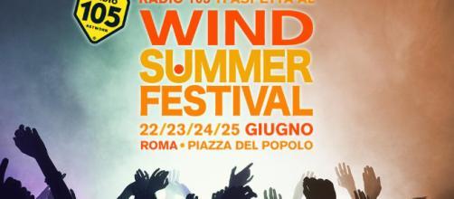 Wind Summer Festival 2018 cast del 22 giugno