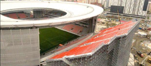 Coupe du Monde 2018 : les tribunes provisoires du stade Ekaterinbourg donnent le vertige aux supporters