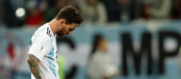 Lionel Messi no hizo la diferencia.
