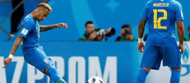 O jogo de Brasil x Costa Rica foi marcado de grandes emoções (Foto - Reprodução)