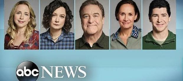 The canceled 'Roseanne' show is returning to ABC as 'The Conners' without Roseanne Barr [Image: Good Morning America/YouTube screenshot]