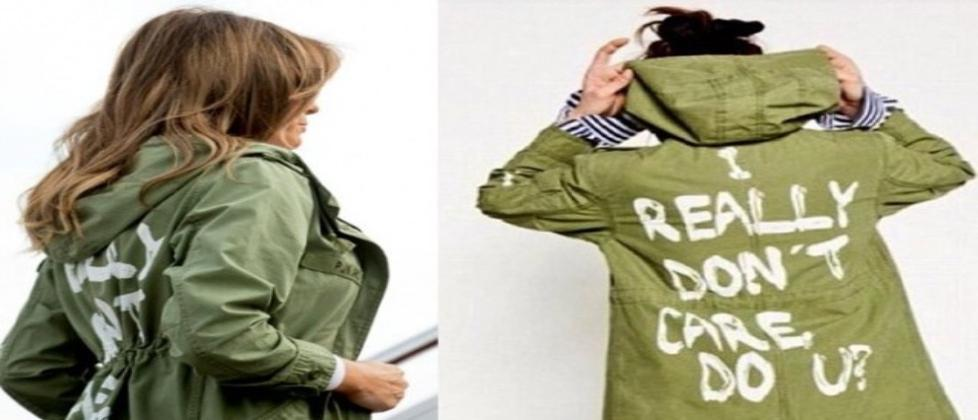 Chamarra de Melania Trump crea controversia