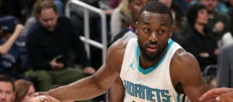 There still may be a possibility that the Cavs make a deal with the Hornets to get All-Star Kemba Walker. - [Image via NBA / YouTube screencap]