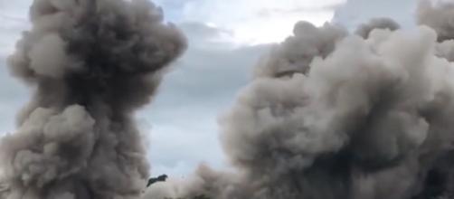 Gli effetti dell'eruzione del vulcano Fuego in Guatemala