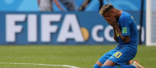 Les larmes de Neymar après la rencontre contre le Costa Rica ont été moqué par certains supporteurs.