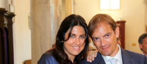 In foto, Matteo Cagnoni con la moglie - fonte: ravennatoday.it