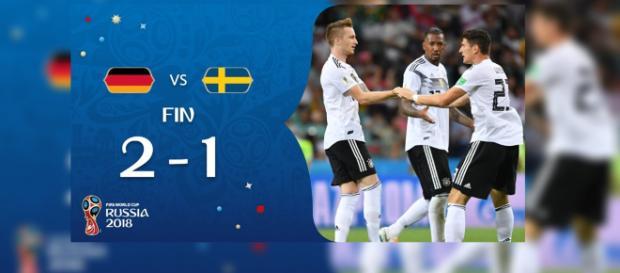 Alemanha 2x1 Suécia: jogaço na Copa do Mundo