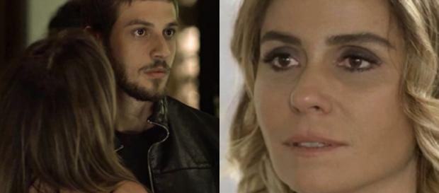 Ícaro e Luzia, personagens de 'Segundo Sol'