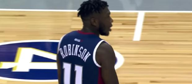 Nate Robinson had the game-winner for Tri-State in his BIG3 League debut on Friday night. [Image source: Fox Sports/YouTube]