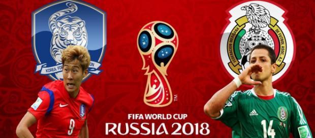O México chega embalado contra a Coreia do Sul após vitória contra a Alemanha