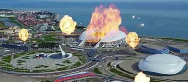 Imagem de vídeo feito pelo Estado Islâmico ameaçando a Copa do Mundo.