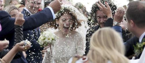 La boda de Rose Leslie y Kit Harington al estilo Juego de Tronos