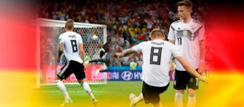 Toni Kroos salva seleção alemã com cobrança de falta épica nos últimos segundos