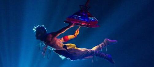 'VOLTA' by Cirque du Soleil is currently being performed on Long Island, New York. / Image via Cirque du Soleil, used with permission.
