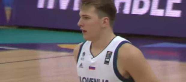 Dallas Mavs' rookie Luka Doncic is expected to sit out for the NBA Summer League. - [Image via ESPN / YouTube screencap]