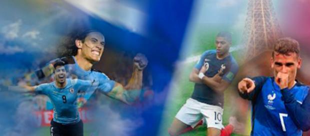 França e Uruguai geram a expectativa de um jogo histórico pelas quartas de final da Copa do Mundo da Rússia 2018