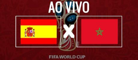 Ao vivo: Espanha x Marrocos pela Copa do Mundo