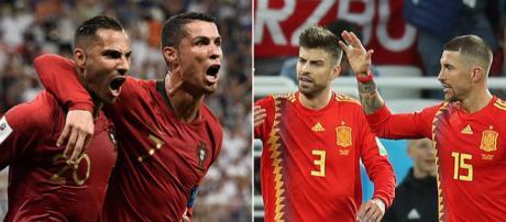 Portugal y España pasaron con muchas dudas a 8vos de final. FIFA.com.