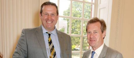 Ivar Mountbatten y James Coyle: primer casamiento homosexual en la monarquía británica