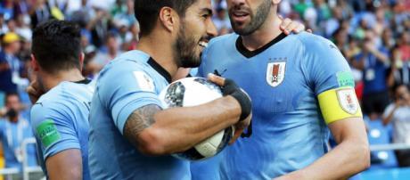Mundial de fútbol 2018: Uruguay es el primero del grupo A tras vencer a Rusia