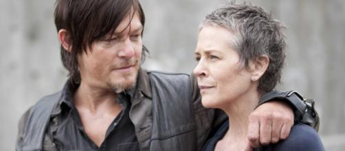 Daryl et Carol The Walking Dead
