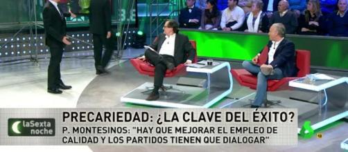 Eduardo Inda abandona el plató de La Sexta Noche tras un enfrentamiento con Iñaki López